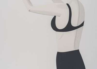 Alex Katz, Chance 1 (Anne), 2016, 30 color silkscreen, 70 x 46 inches: paper, 74.5 x 50 x 2.25 inches: frame, Edition of 50