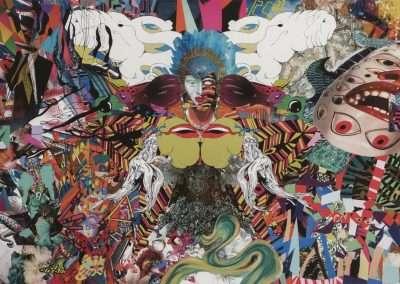assume vivid astro focu, abra vana alucinete fogo, 2012 archival inkjet print 12 x 17 inches
