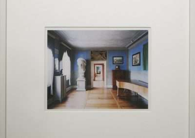 Candida Höfer, Weimar, 2008, c-print , 10 x 12.5  inches: image, 15 x 16.75 inches: frame, Edition of 100
