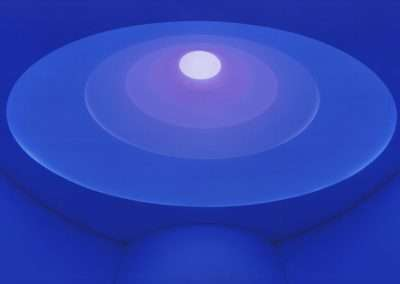 James Turrell, Aten Reign, 2015, digital inkjet print, 43 x 63.5 inches: image, 46.5 x 67.5 inches: frame, Edition 9/30