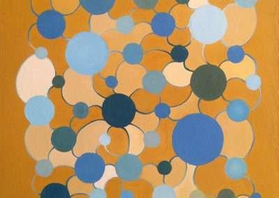 Matt Magee - Ochredotnet, 2002, oil on primed paper, 15.25 x 11.75 inches: image