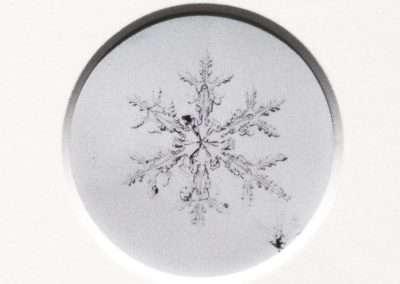 Risaku Suzuki, Snow Letter 9, 2006, 14.75 x 11.75 inches: frame, Edition of 3