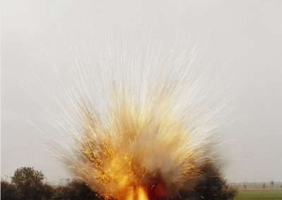 Sarah Pickering, Land Mine, 2005, c-print, 12 x 12 inches: image, 14 x 14 inches: paper, Edition of 50