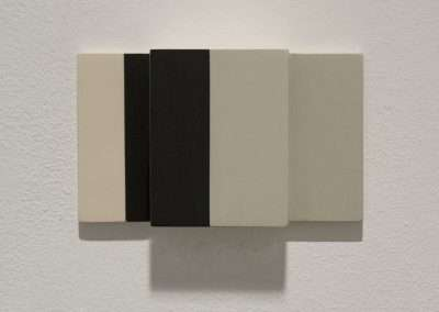 Stuart Arends, Unfolded 15, 2000, oil on wood, 4.5 x 7.5 x 2.25 inches