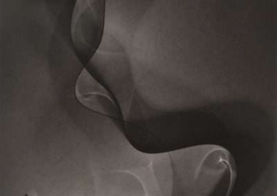 Thomas Ruff, Photograms, 2012, photogram on photo paper, 11 x 8 inches: image, 20.75 x 17.5 x 1.5 inches: frame