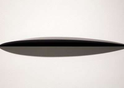 Tom Waldron - Fin, 2011, enamel on pine, 28 x 4.5 x 2 inches