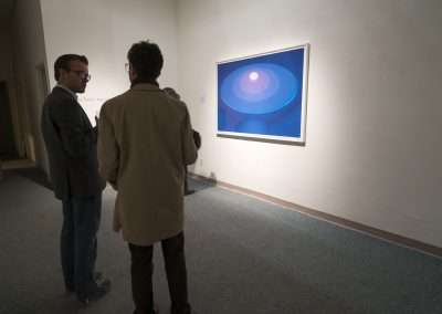 Richard Levy Gallery Reception:  James Turrell, Aten Reign
