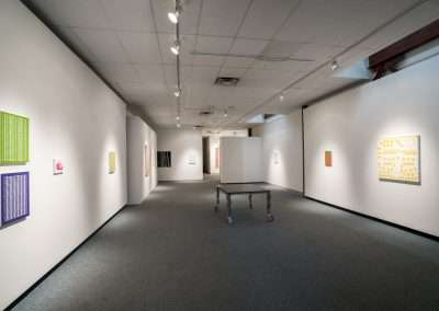 Installation view: Matt Magee exhibition Richard Levy Gallery