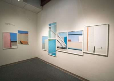 Installation View: Hayley Rheagan exhibition Richard Levy Gallery