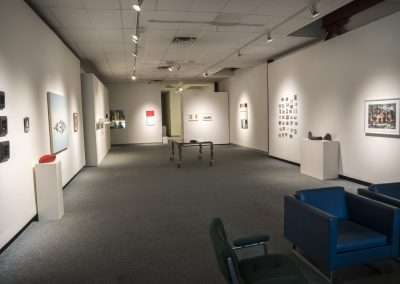Installation View: Unstructured Merriment, 25th anniversary exhibition Richard Levy Gallery