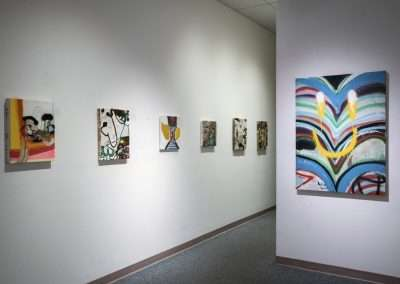 Installation View: Earl McBride exhibition Richard Levy Gallery