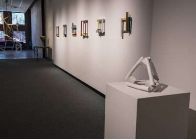 Installation View: Bruce Davis and Mary Tsiongas exhibition Richard Levy Gallery