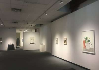 Installation View: Jay Kelly and Jonas Wood exhibition Richard Levy Gallery