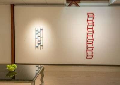 Installation View: Emi Ozawa exhibition Richard Levy Gallery