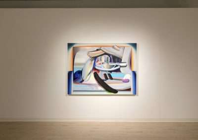 Installation View: Raychael Stine exhibition at Richard Levy Gallery