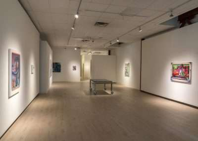 Installation View: Raychael Stine exhibition at Richard Levy Gallery