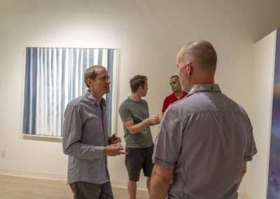 Richard Levy Gallery Reception: Navigation