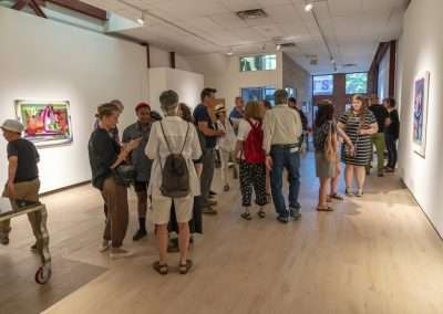 Richard Levy Gallery Reception: the river is a river, not a line