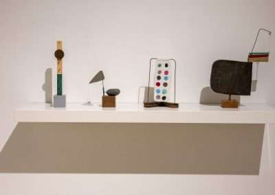 Installation: Mick Burson sculptures at Richard Levy Gallery