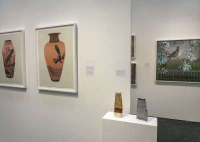 Installation view: Art on Paper