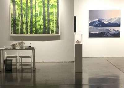Installation view: Seattle Art Fair