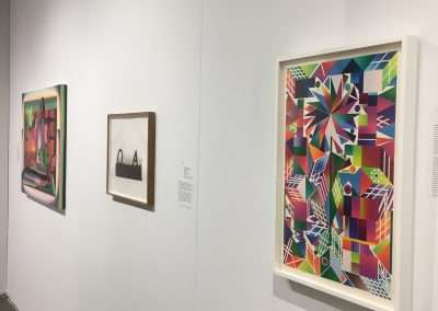 Installation view: Seattle Art Fair