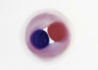Adam Henry, The Odyssey of Red and Purple #37, 2002, iris print, 7 x 5 inches, Edition of 100, Published by Richard Levy Editions