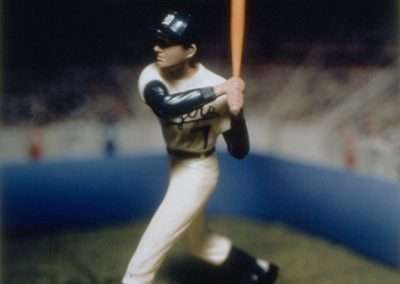 David Levinthal, Al Kaline (from the Baseball series), 1998, Polaroid print, 24 x 20 inches, Edition of 5, Published by Richard Levy Editions
