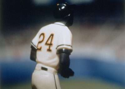 David Levinthal, Willie Mays (from the Baseball series), 1998, Polaroid print, 24 x 20 inches, Edition of 5, Published by Richard Levy Editions