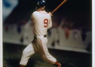 David Levinthal, Ted Williams (from the Baseball series), 1998, Polaroid print, 24 x 20 inches, Edition of 5, Published by Richard Levy Editions