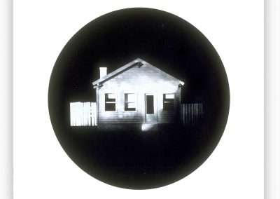 James Casebere, Home , 1993, waterless lithograph, 18.75 x 22 inches: paper, Edition of 24, Published by 21 Steps Editions