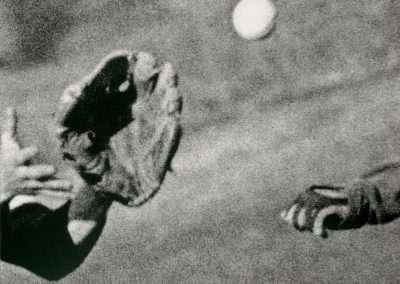 John Baldessari, Hands & Feet: Hands, Baseball & Glove, 2017, 8 color screenprint, 24 x 32.75 inches61 x 83.2 cm, Edition of 50
