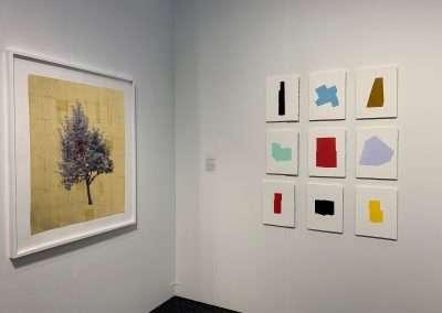 Daniel Ballesteros and Jeff Kellar at Art on Paper 2019