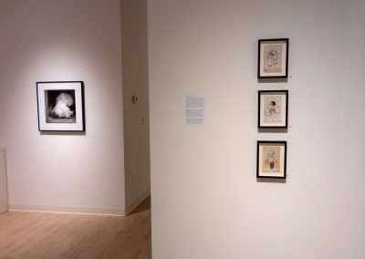 Installation View: Valerie Roybal and Isa Leshko exhibition at Richard Levy Gallery
