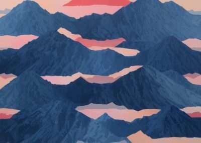 Beau Carey, Alkekongen, 2019, oil on canvas, 48 x 56 inches