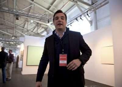 Max Fishko at the San Francisco Fine Art Fair 2010