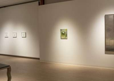 Installation View: to the moon and back exhibition at Richard Levy Gallery