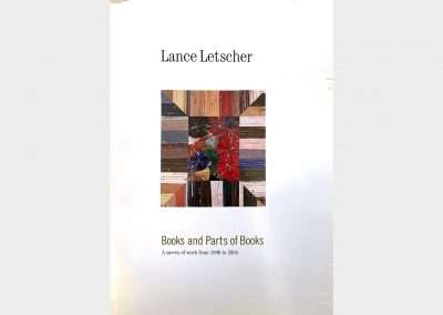 Lance Letscher • Books and Parts of Books