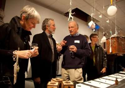 Friends of Art Ornament Auction at Richard Levy Gallery