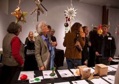 auction.2667Friends of Art Ornament Auction at Richard Levy Gallery