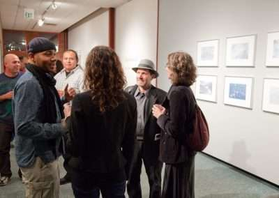 DJ Spooky and Erika Blumenfeld at Richard Levy Gallery