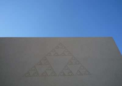 Miguel Arzabe, Sierpinski Gasket at the Albuquerque Museum