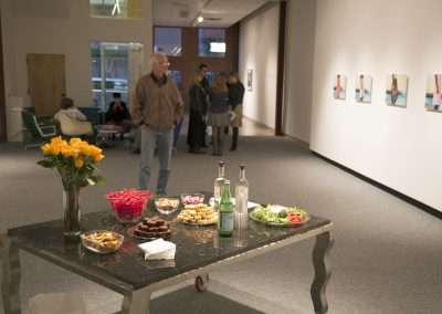 Reception for Skirts at Richard Levy Gallery
