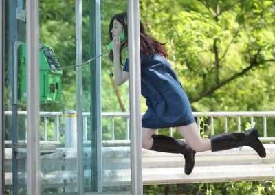 Natsumi Hayashi, Today's Levitation, 4/14/2011, 2011 lambda print, 20 x 24 inches, Edition of 12
