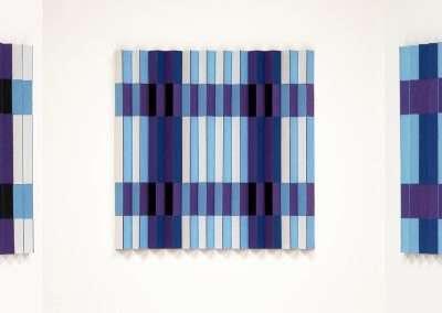 Emi Ozawa, Well Two, 2020, paper, vinyl on board 6 x 6 inches: image