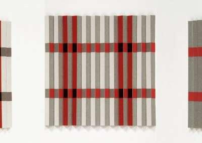 Emi Ozawa, Well Three, 2020, paper, vinyl on board 6 x 6 inches: image