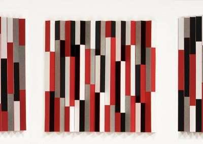 Emi Ozawa, Paper Fushi Bushi, 2020, paper, vinyl on board 6 x 6 inches: image
