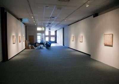 David Poppie installation at Richard Levy Gallery