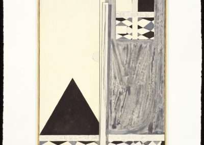Jasper Johns, Pyre 2, 2004, 3 color lithograph, 15.25 x 11.25 inches, Edition 131/250