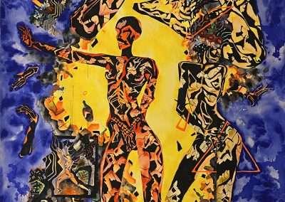 Kianah Jay, 108 x 72, inches